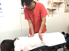 身体バランスを整えるオーダーメード施術